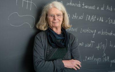 La primera mujer premio Abel de matemáticas